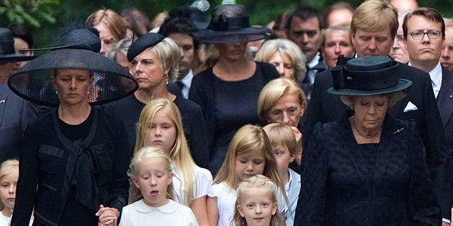 Holanda se viste de luto