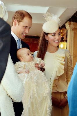 Bautizo del Príncipe Jorge Alejandro Luis