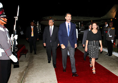 El Príncipe Felipe en visita oficial