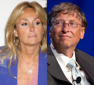 Bill Gates y Esther Koplowitz, la pareja de moda