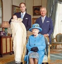Una Reina y tres futuros Reyes. La historia se repite.