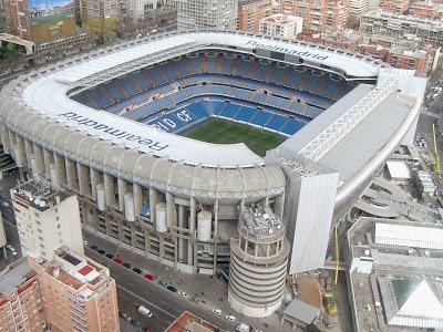 El Santiago Bernabéu, un estadio Champions