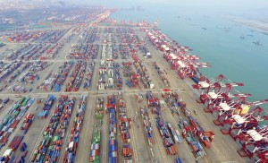 qingdao-china-container-port